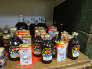 Polk Farm maple syrup