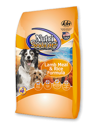 Lamb Meal & Rice Formula